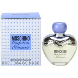 Moschino Toujours Glamour Deo mit Zerstäuber für Damen 50 ml