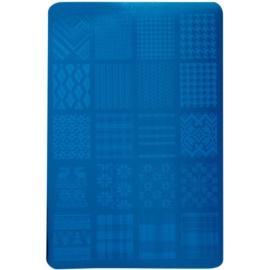 Moyra Nail Art Fabric Texture destička razítek na nehty 02
