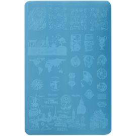 Moyra Nail Art Globetrotter destička razítek na nehty 01