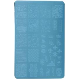 Moyra Nail Art Memories płytka z wzorkami do stempelka do paznokci 16