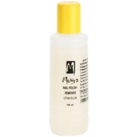 Moyra Nails körömlakklemosó aceton nélkül Citron Yellow 100 ml