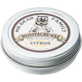 Mr Bear Family Citrus wosk do wąsów  30 ml