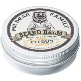Mr Bear Family Citrus bálsamo para la barba  60 ml