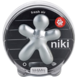 Mr & Mrs Fragrance Niki Fresh Air vôňa do auta 1 cm plniteľná