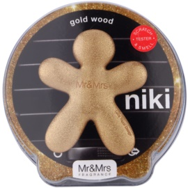 Mr & Mrs Fragrance Niki Gold Wood ambientador auto