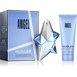 Mugler Angel подаръчен комплект X. парфюмна вода 50 ml + мляко за тяло 100 ml