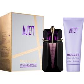 Mugler Alien ajándékszett VIII. Eau de Parfum 60 ml + testápoló tej 100 ml