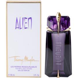 Mugler Alien eau de parfum nőknek 90 ml utántölthető