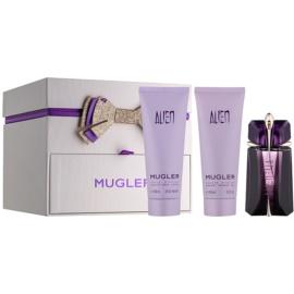 Mugler Alien ajándékszett XIII.   Eau de Parfum 60 ml + testápoló tej 100 ml + tusfürdő gél 100 ml