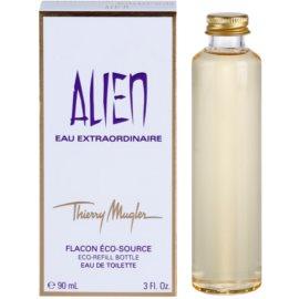 Mugler Alien Eau Extraordinaire Eau de Toilette pentru femei 90 ml rezerva