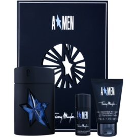 Mugler A*Men lote de regalo III. eau de toilette 100 ml + gel de ducha 50 ml + deo barra 20 ml