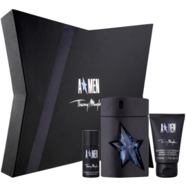 Mugler A*Men darilni set VII.  toaletna voda 100 ml + šampon za celotno telo 50 ml + Deo-Stick 20 ml