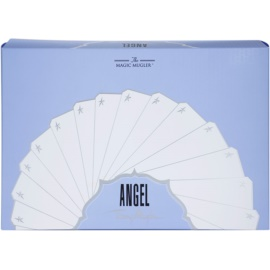 Mugler Angel coffret cadeau XVII.  eau de parfum 25 ml + lait corporel 100 ml + gel de douche 30 ml + trousse de maquillage 28 x 7,5 x 17 cm