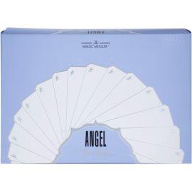 Mugler Angel dárková sada XVII. parfémovaná voda 25 ml + tělové mléko 100 ml + sprchový gel 30 ml + kosmetická taška 28 x 7,5 x 17 cm