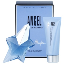 Mugler Angel darilni set X. parfumska voda 50 ml + losjon za telo 100 ml