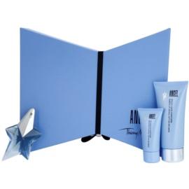 Mugler Angel Gift Set XVI.  Eau De Parfum Refillable 25 ml + Body Milk 100 ml + Shower Gel 30 ml