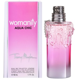 Mugler Womanity Aqua Chic 2013 Edition eau de toilette per donna 50 ml