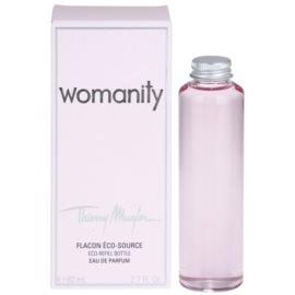 Mugler Womanity Eau de Parfum für Damen 80 ml Ersatzfüllung