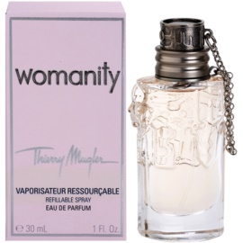 Mugler Womanity Eau de Parfum for Women 30 ml Refillable