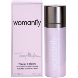 Mugler Womanity deospray pre ženy 100 ml