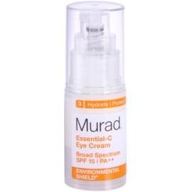 Murad Environmental Shield nawilżający krem pod oczy SPF 15 3 Hydrate & Protect (Essential-C Broad Spektrum PA++) 15 ml