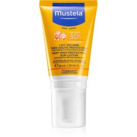 Mustela Solaires krem ochronny do twarzy SPF50+  40 ml