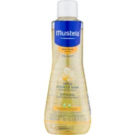 Mustela Bébé Dry Skin olje za kopel  300 ml