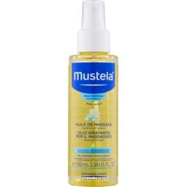 Mustela Bébé Massageöl für Kinder ab der Geburt  100 ml