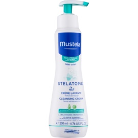 Mustela Bébé Stelatopia Cleansing Cream For Children From Birth  200 ml