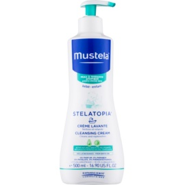 Mustela Bébé Stelatopia Cleansing Cream For Children From Birth  500 ml