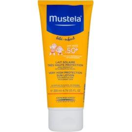 Mustela Solaires mléko na opalování SPF 50+  200 ml