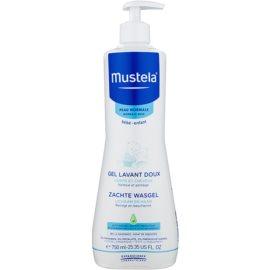 Mustela Bébé Bain tisztító test és haj gél gyermekeknek  750 ml