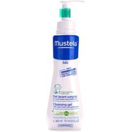 Mustela Bébé Bain tisztító gél testre  300 ml