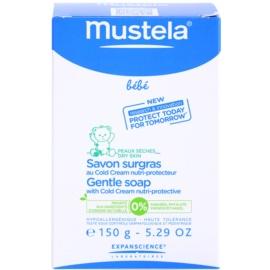 Mustela Bébé Bain finom szappan cold cream  15 g