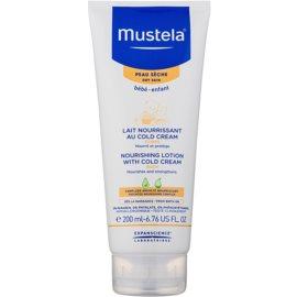 Mustela Bébé Soin testápoló tej cold cream  200 ml