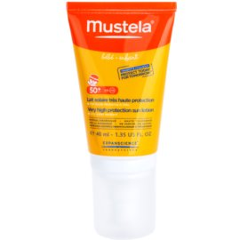 Mustela Solaires защитен крем за лице SPF 50+  40 мл.