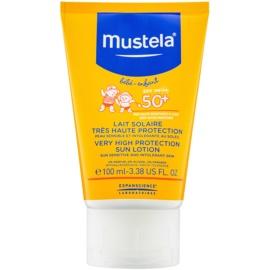 Mustela Solaires losjon za sončenje SPF 50+  100 ml