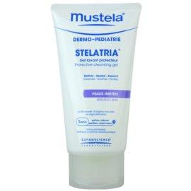 Mustela Dermo-Pédiatrie Stelatria ochranný čistiaci gél pre podráždenú pokožku  150 ml
