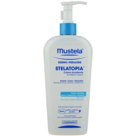 Mustela Dermo-Pédiatrie Stelatopia Emollient  Moisturizing Cream For Very Dry Sensitive And Atopic Skin 400 ml