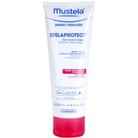 Mustela Dermo-Pédiatrie Stelaprotect почистващ гел за чувствителна кожа   200 мл.
