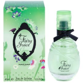 Naf Naf Fairy Juice Green eau de toilette para mujer 40 ml