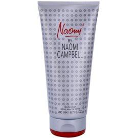 Naomi Campbell Naomi losjon za telo za ženske 200 ml
