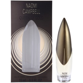 Naomi Campbell Queen of Gold woda toaletowa dla kobiet 15 ml