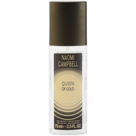 Naomi Campbell Queen of Gold dezodorant z atomizerem dla kobiet 75 ml