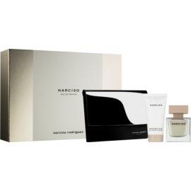 Narciso Rodriguez Narciso zestaw upominkowy III. woda perfumowana 50 ml + mleczko do ciała 50 ml + kosmetyczka