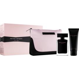 Narciso Rodriguez For Her set cadou XVI.  Apa de Toaleta 50 ml + Lotiune de corp 50 ml + geanta cosmetice 17,5 cm x 1 cm x 12 cm