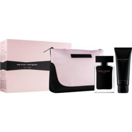 Narciso Rodriguez For Her dárková sada XVI. toaletní voda 50 ml + tělové mléko 50 ml + kosmetická taška 17,5 cm x 1 cm x 12 cm