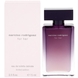 Narciso Rodriguez For Her Delicate Limited Edition toaletní voda pro ženy 75 ml
