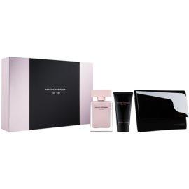 Narciso Rodriguez For Her set cadou XXVI.  Eau de Parfum 50 ml + Lotiune de corp 50 ml + portofel