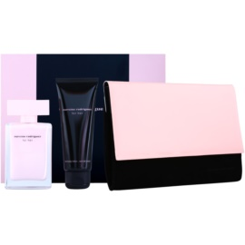 Narciso Rodriguez For Her dárková sada XIX.  parfemovaná voda 50 ml + tělové mléko 75 ml + kosmetická taška